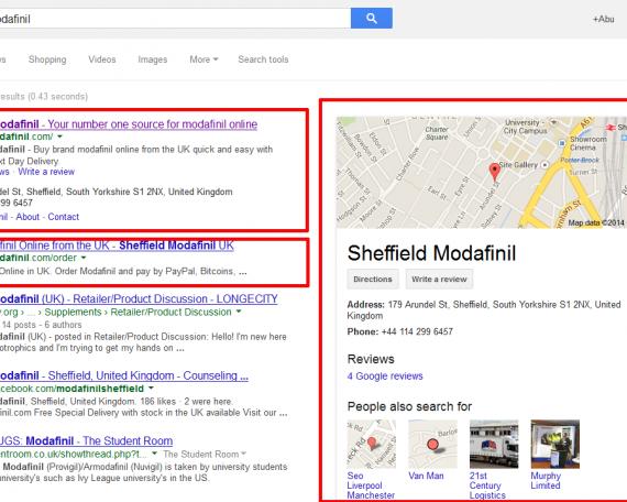 Sheffield Modafinil.com