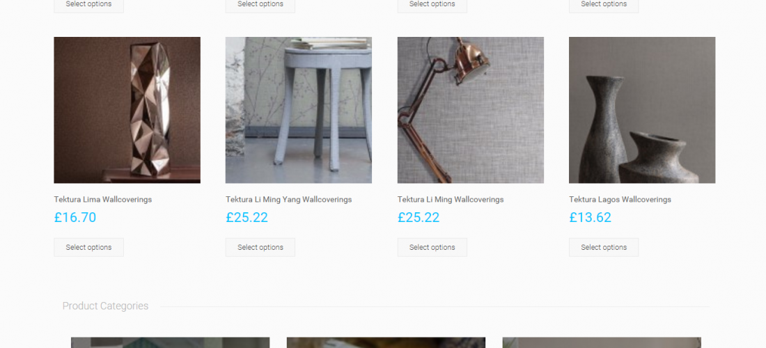 WordPress Custom eCommerce Development _vieinteriors.co.uk